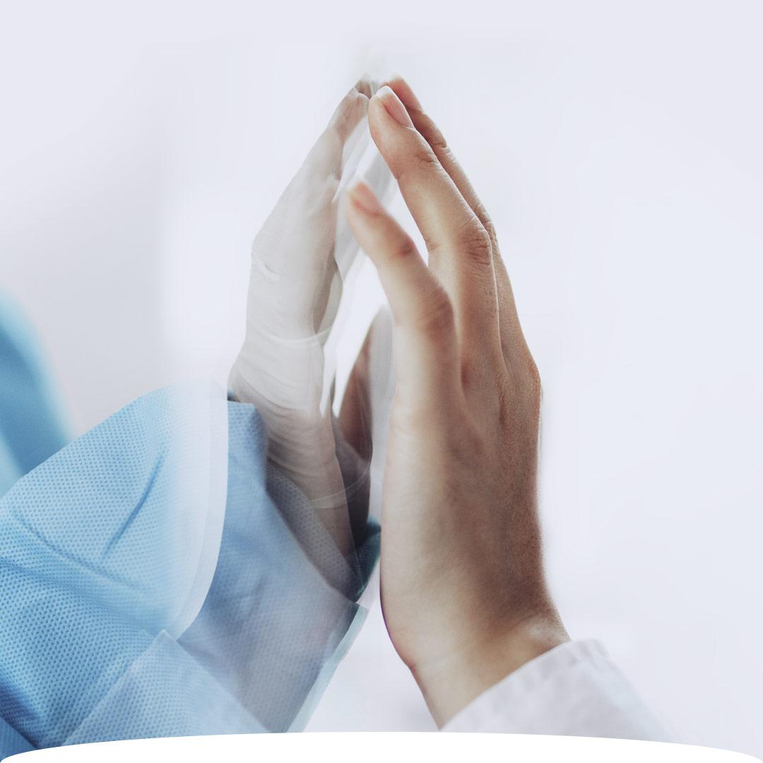 Paziente e medico interagiscono con il progetto RAMSI