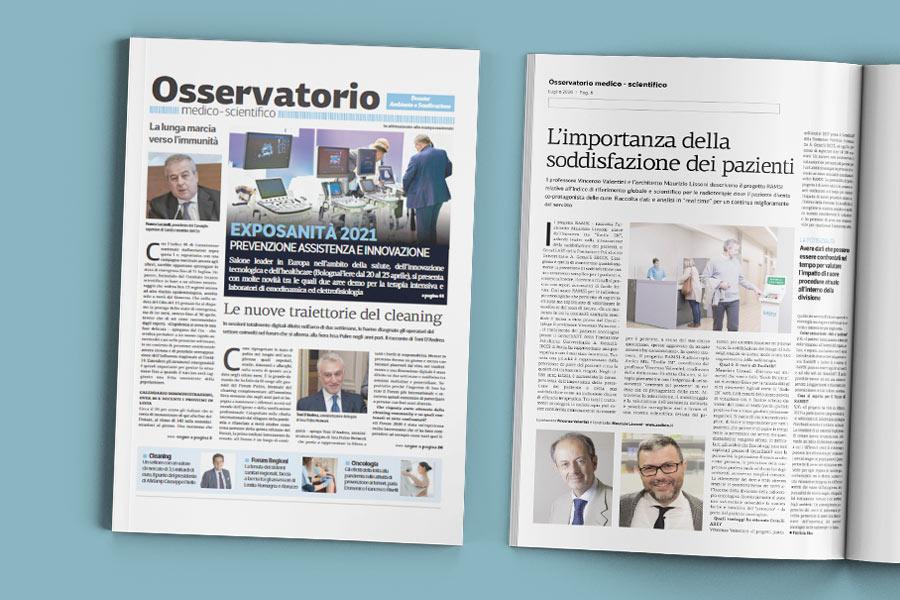 Il progetto RAMSI per le radioterapie italiane su osservatorio medico scientifico