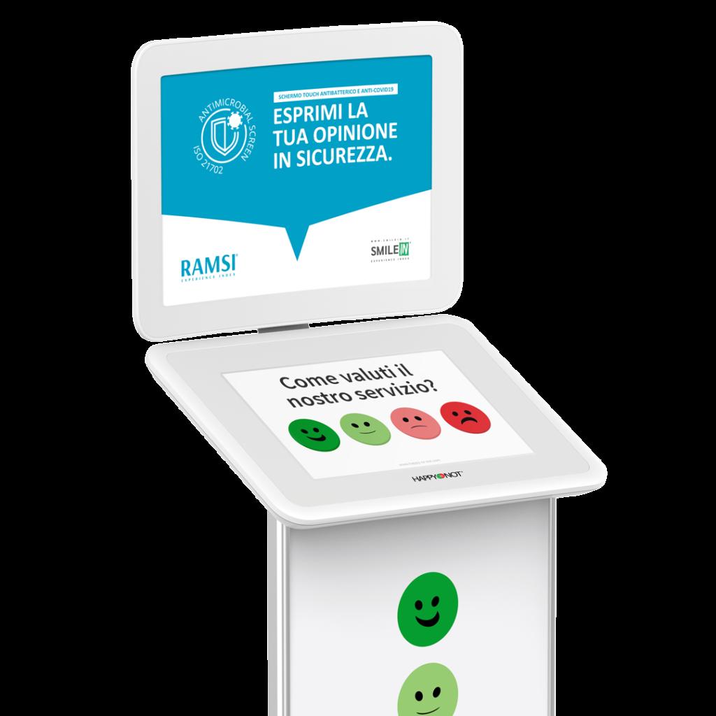 RAMSI Smiley Touch per sondaggio sull'esperienza dei pazienti