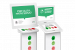 Totem dispositivi per feedback clienti Smiley Touch e Smiley Terminal
